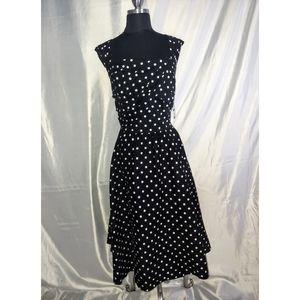 Black and White Pick a Dot Dress